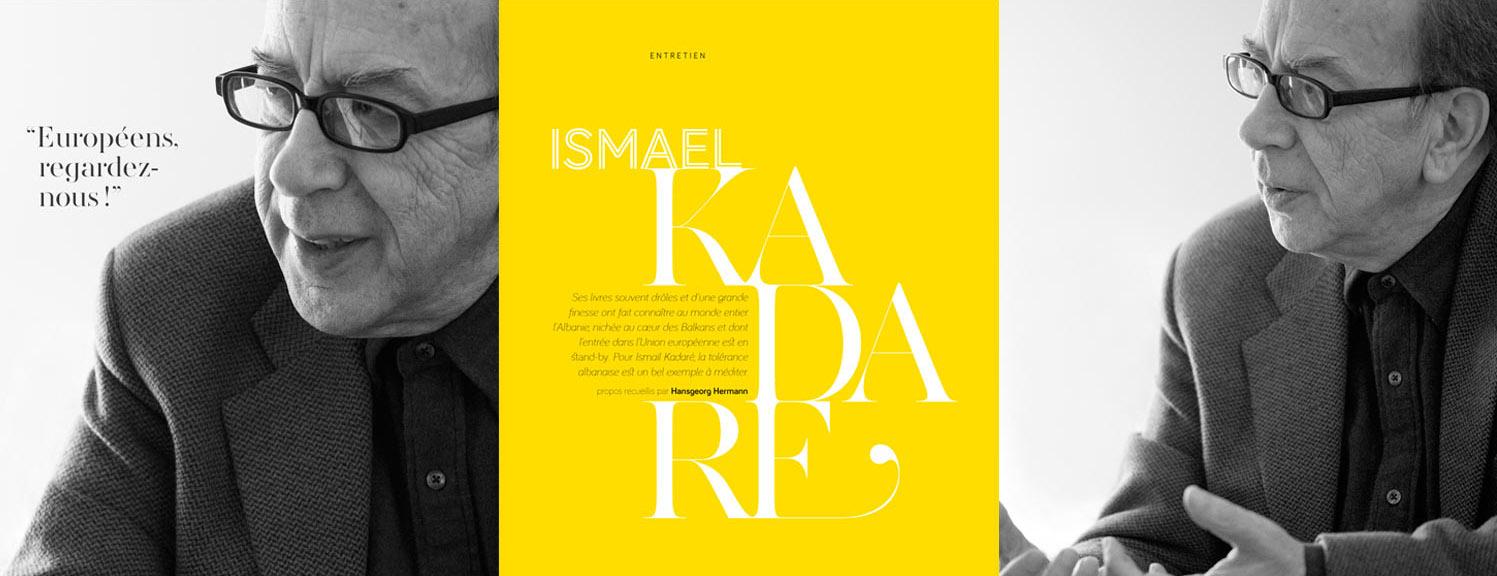 Ismail Kadare ©Olivier Placet